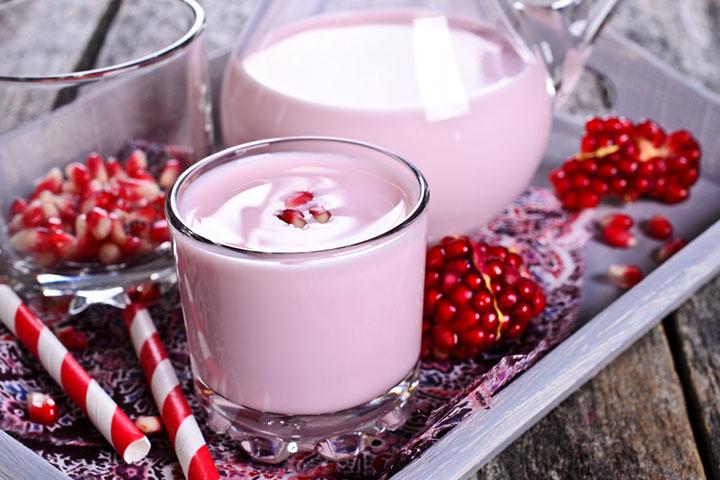 Pomegranate Milkshake