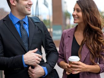 25 Subtle Signs A Male Co-Worker Likes You