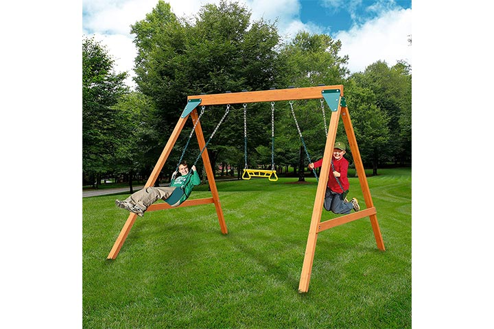 Swing-N-Slide Wooden Swing Set