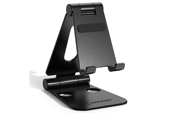 Appucoco Aluminium Adjustable Foldable Mobile Phone Stand