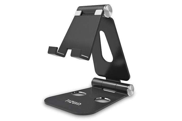 Tizum Z12 Anodized Aluminum Adjustable Foldable Stand