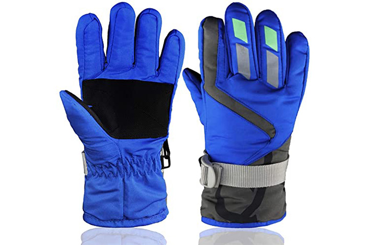 YR.Lover Children Ski Gloves