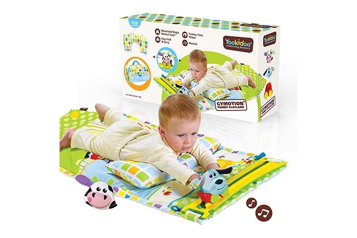 Yookidoo Baby Tummy Time Mat
