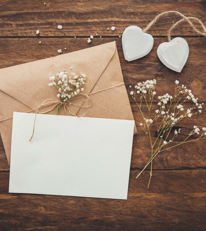 How To Write A Wedding Letter To Your Partner: 10 Simple Tips