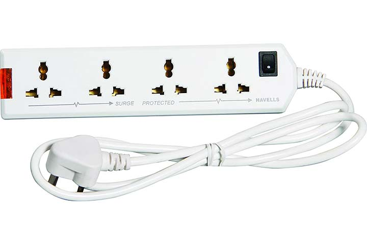 Havells Four-Way Extension Board