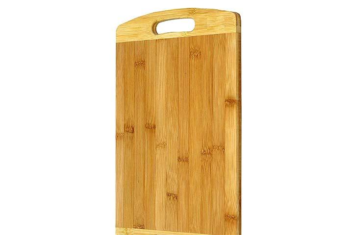 Zircon Thick Bamboo Kitchen Cutting Board