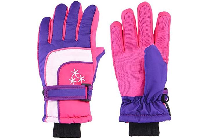 iSee Case Cold Weather Ski Gloves