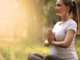 प्रेगनेंसी के दौरान ध्यान लगाने (मेडिटेशन) के फायदे व नुकसान | Meditation During Pregnancy In Hindi