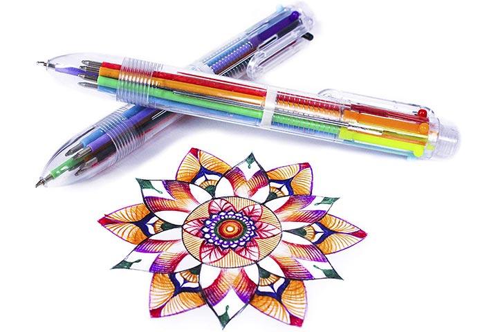 Hieno Supplies Multicolor Pens