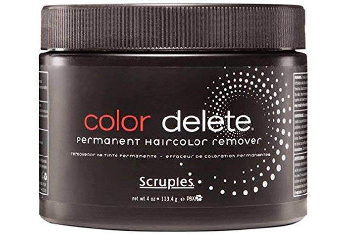 Scruples Delete Permanent Hair Color Remover