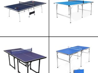 11 Best Foldable Ping Pong Tables In 2021