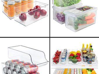 11 Best Refrigerator Organizer Bins In 2021