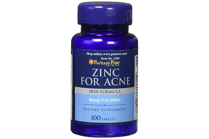 Puritan's Pride Zinc For Acne