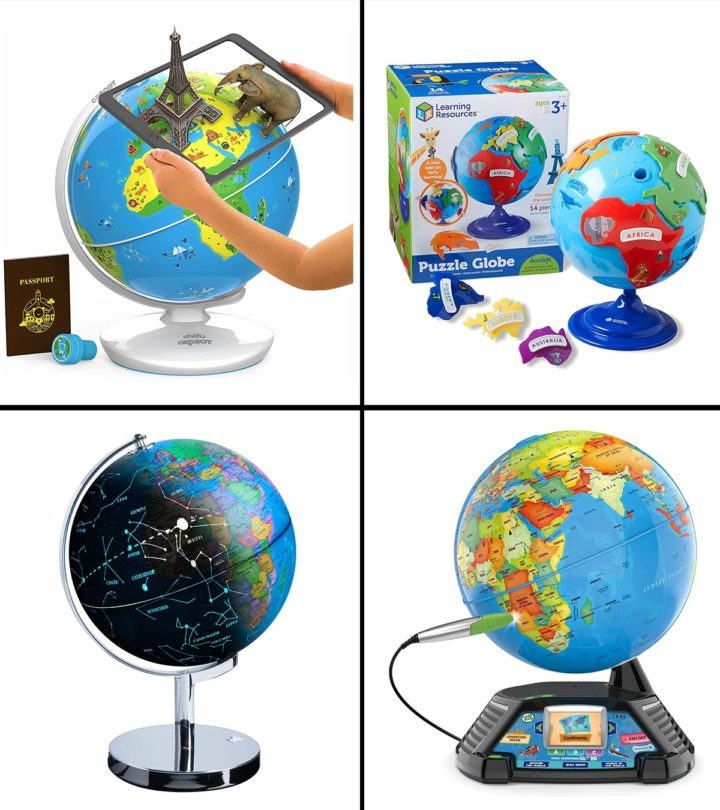 13 Best Globes For Kids Of 2021
