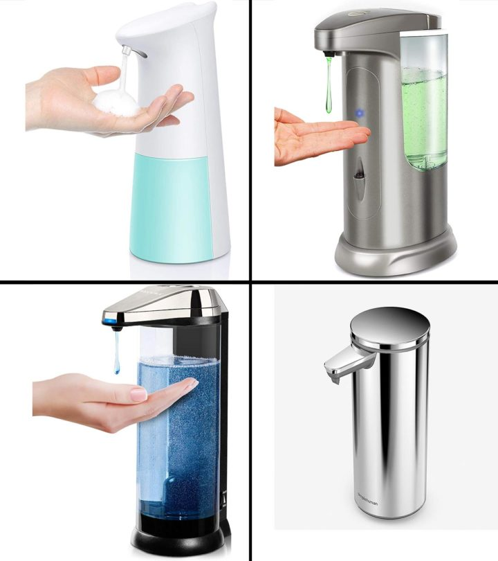 15 Best Automatic Soap Dispensers In 2021