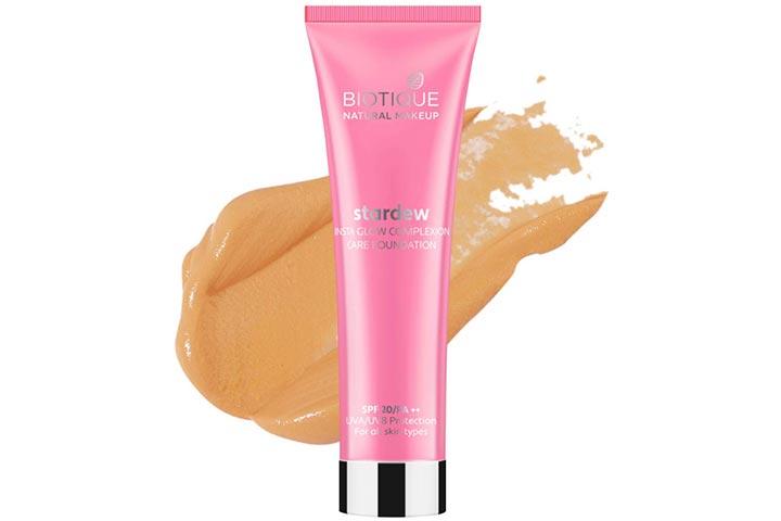 Biotique Natural Makeup Stardew Insta Glow Foundation