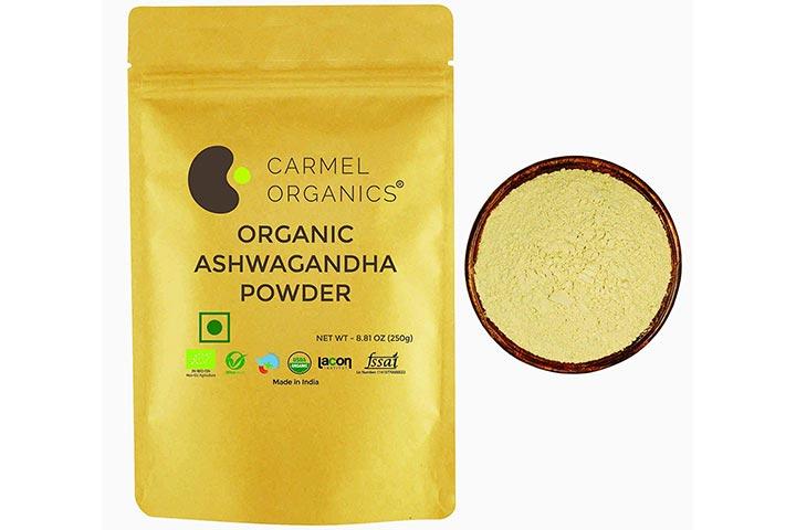 Carmel Organics Organic Ashwagandha Powder
