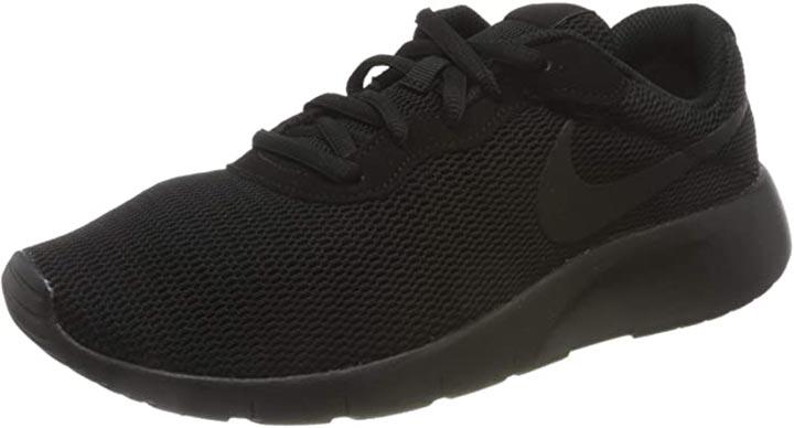 Nike Boys Tanjun Running Shoes - Black/Black