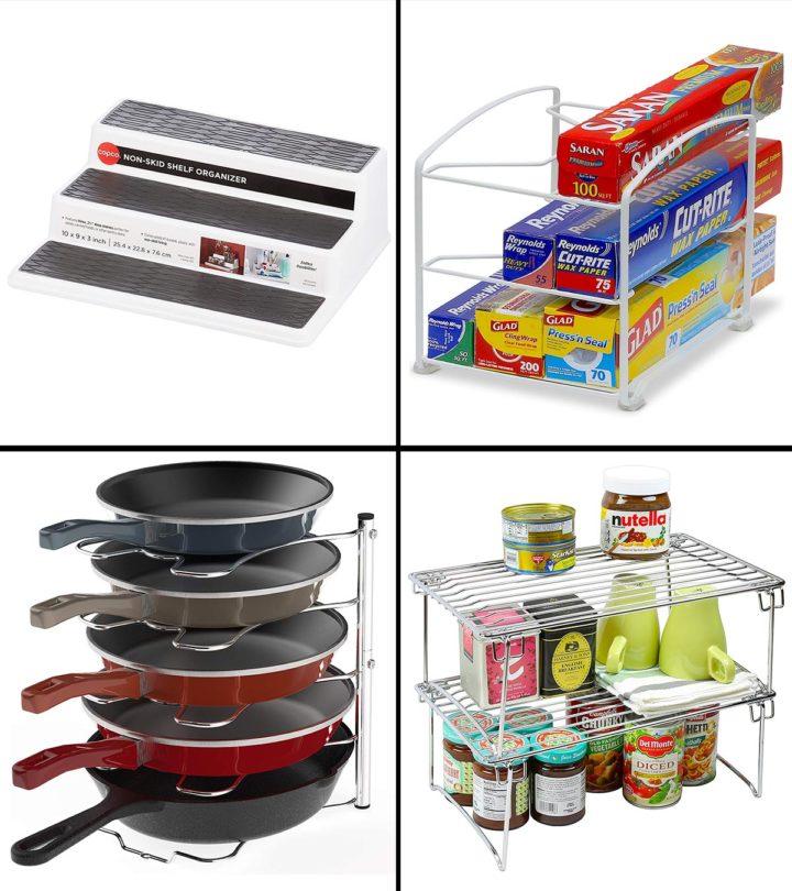 21 Best Kitchen Cabinet Organizers In 2021