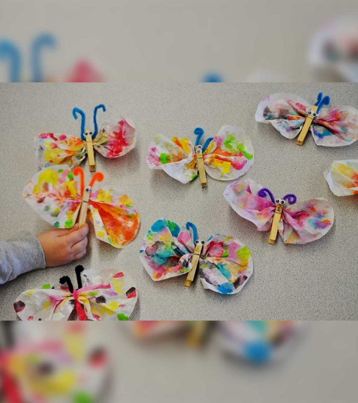 23 Beautiful And Unique Butterfly Crafts For Kids Of All Ages-1