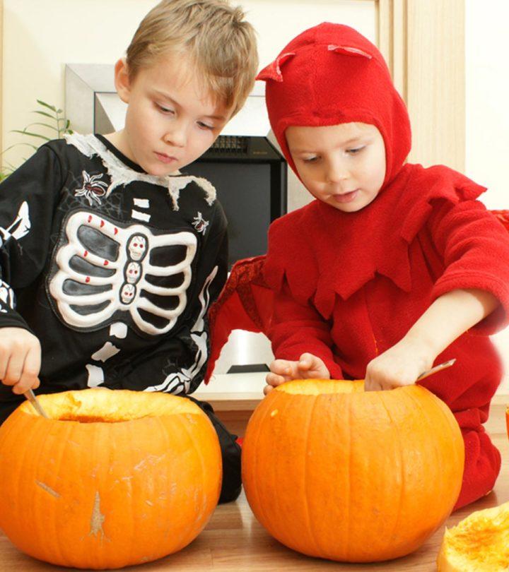 25 Creative And Unique Kid-Friendly Pumpkin Carving Ideas