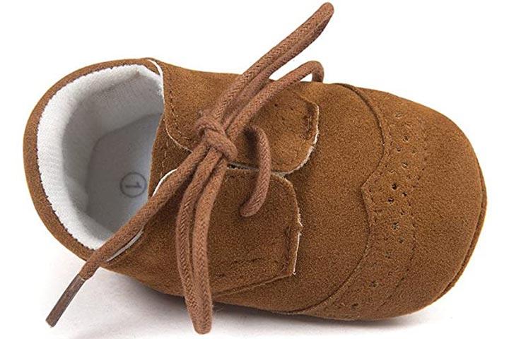 Estamico Baby Boys Shoes - Dark Brown