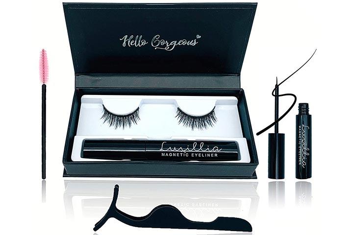 Luxillia 5D Magnetic Eyelashes With Eyeliner Kit