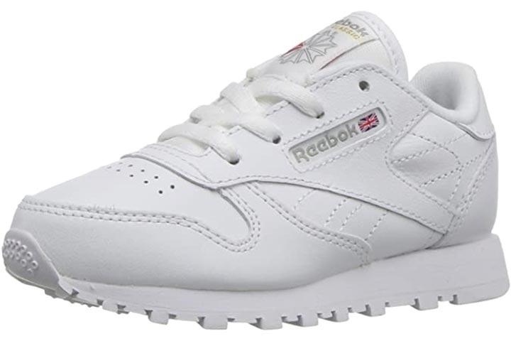 Reebok Classic Leather Sneaker - White/ Light Grey