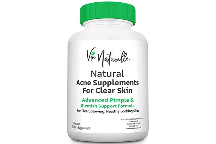 Vie Naturelle Natural Acne Supplements For Clear Skin
