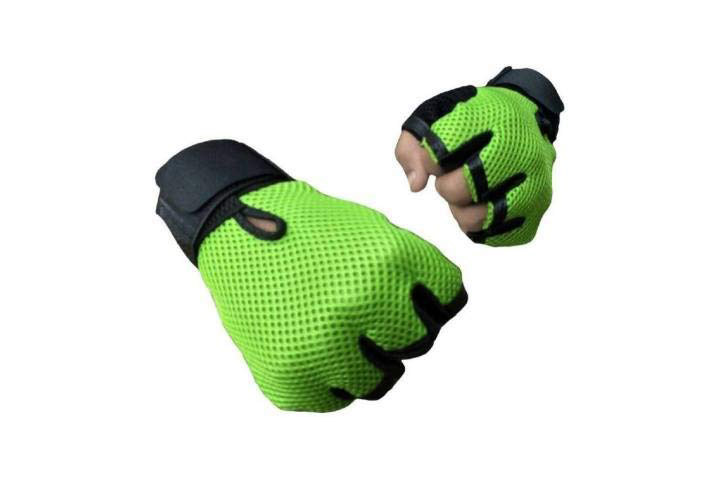 5 O'Clock Sports Leather Gym Gloves
