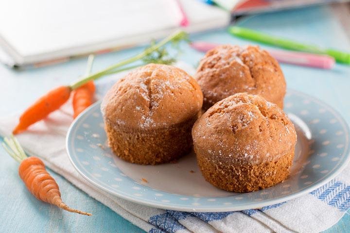 Carrot cake muffin recipes