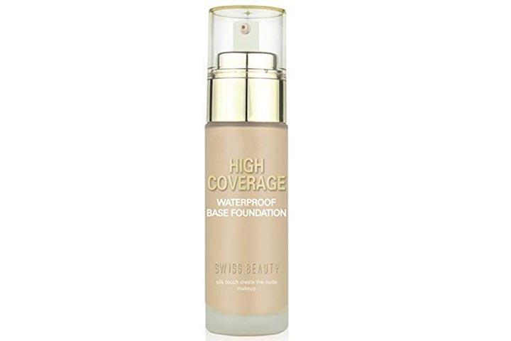Swiss Beauty High Coverage Waterproof Foundation