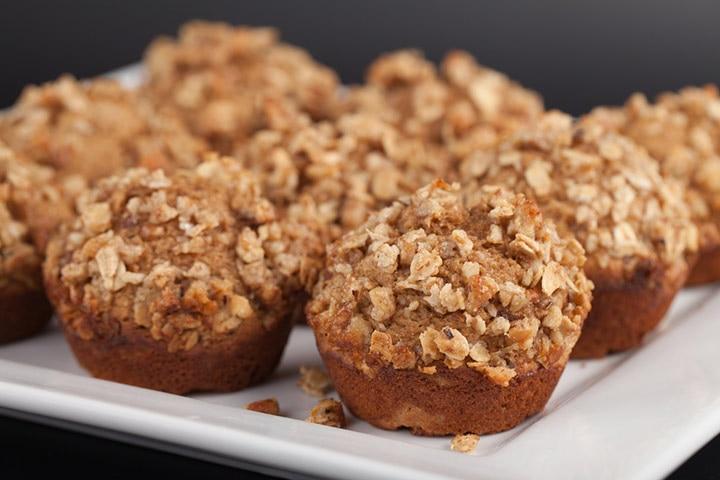 Almond and sweet potato muffin