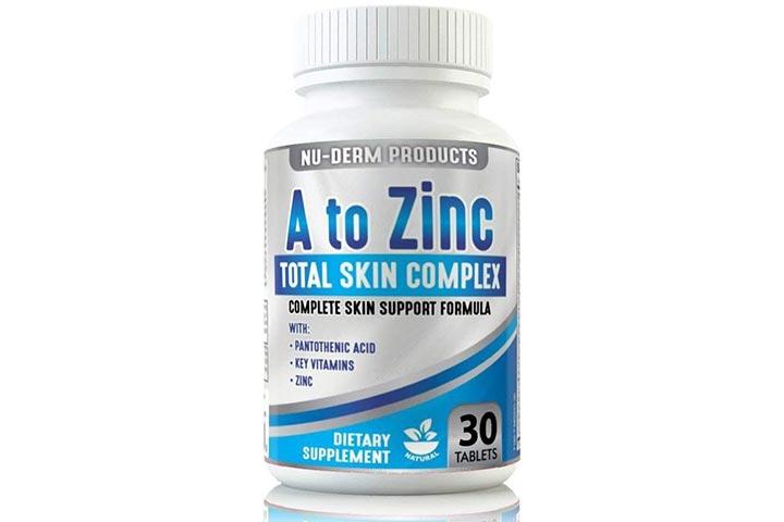 Nu-Derm Products A To Zinc Total Skin Complex