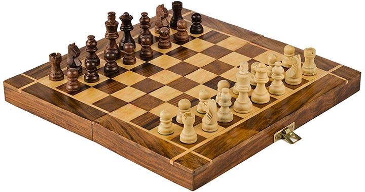 Ada Handicraft Professional Tournament Wooden Chess Board
