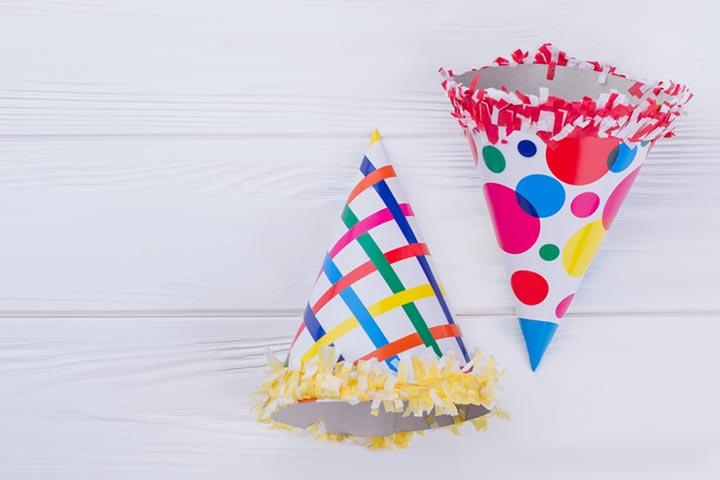 Angry Birds birthday hat