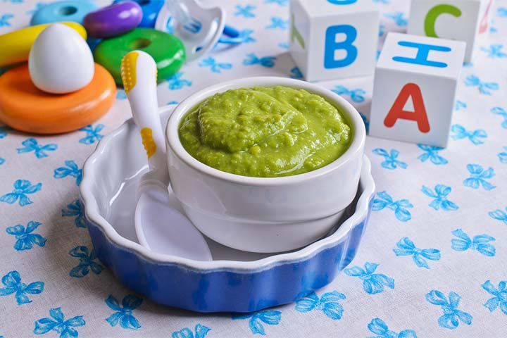 Apple and spinach puree (8 months+)