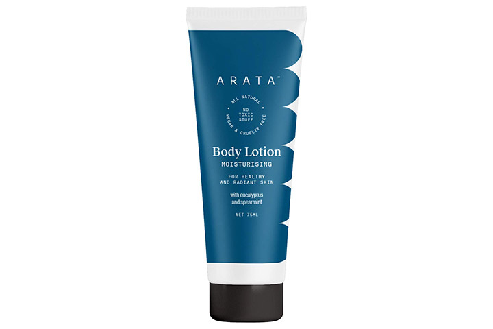 Arata Natural Moisturising Body Lotion