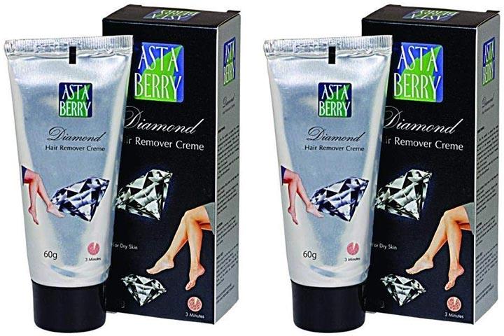 Asta Berry Diamond Hair Removal Cream