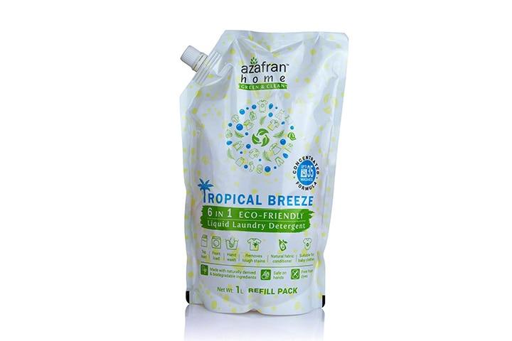 Azafran Tropical Breeze 6 in 1 Eco-friendly Liquid Laundry Detergent