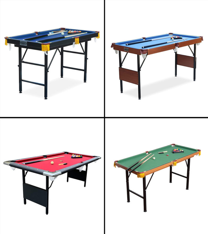 Best Foldable Pool Tables
