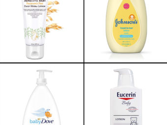 11 Best Lotions For Baby's Sensitive Skin In 2021