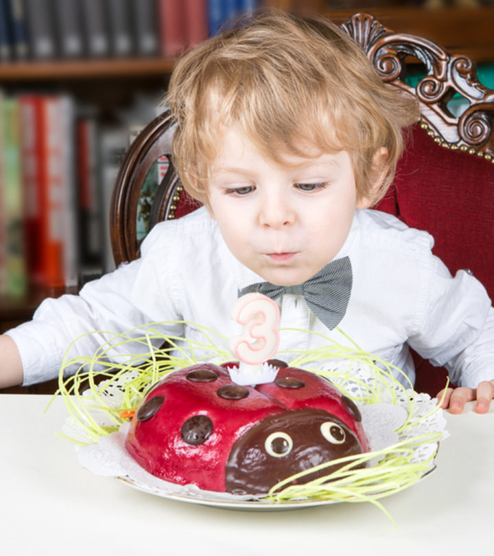 Birthday Party Ideas For A Three-Year-Old