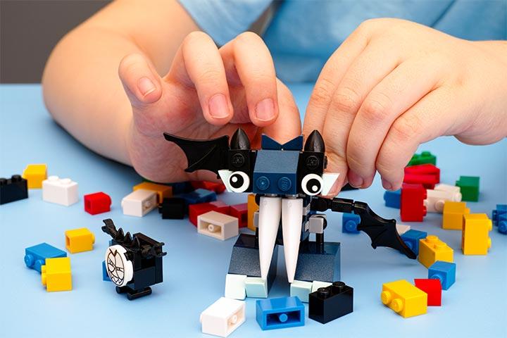 Build something from LEGO blocks