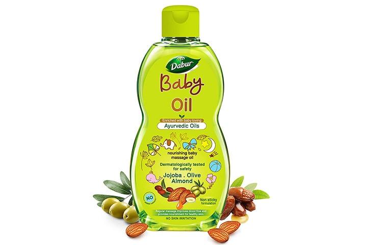 Dabur Baby Oil Non - Sticky Baby Massage Oil
