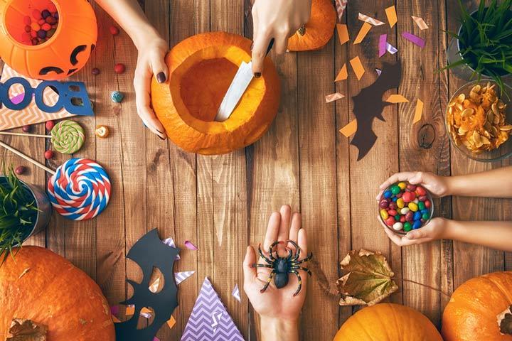 Diorama pumpkin
