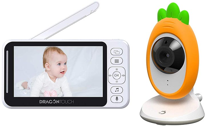 """Dragon Touch 4.3"""" Video Baby Monitor"""