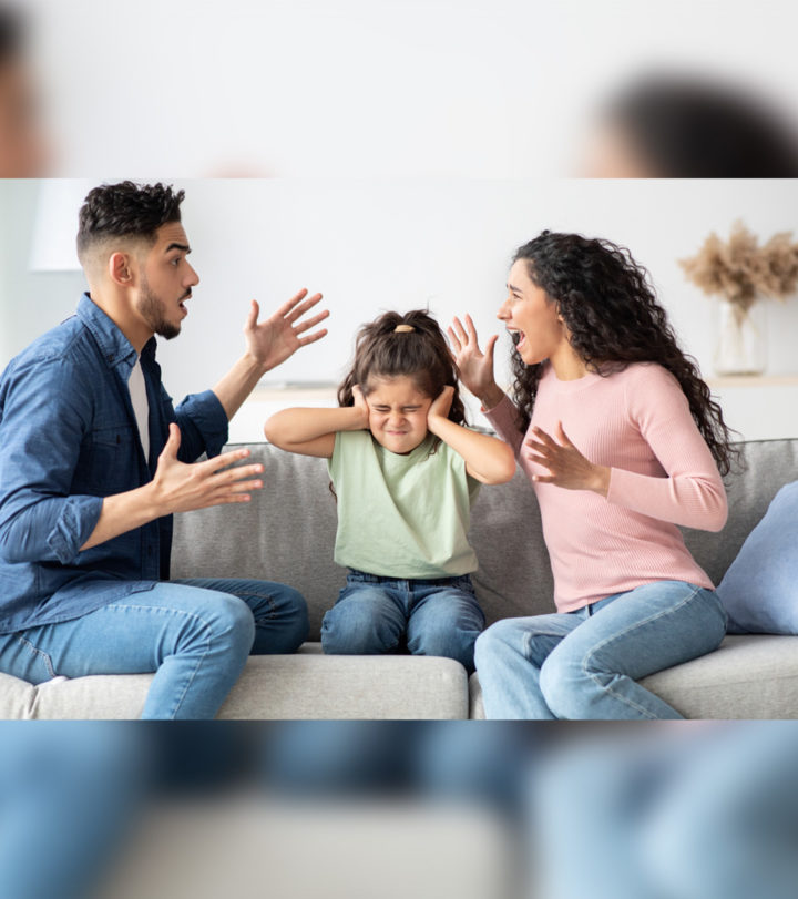 Effect Of Parents Fighting In Front Of Children