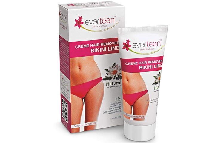 Everteen Bikini Line Hair Removal Cream