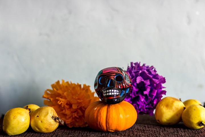 Glow-in-the-dark pumpkins